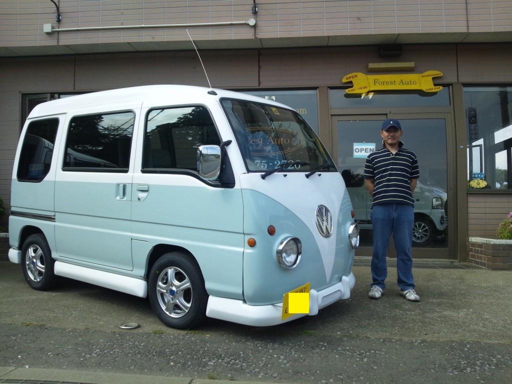 サバル サンバー VWバス仕様  千葉県 神崎町 T 様