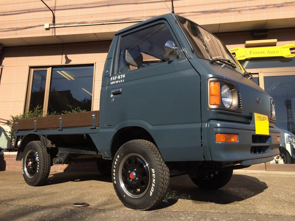 スバル サンバー トラック FAFリフトアップスプリングR装着車  千葉県 成田市  S 様